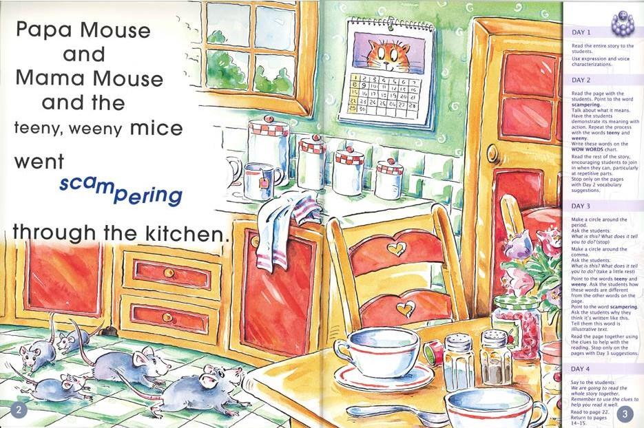 4 - 6 Years : Mice in the KitchenBig Book 1