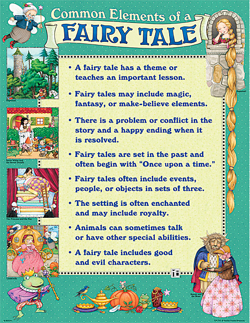 english charts me common elements of a fairy tale chart. Black Bedroom Furniture Sets. Home Design Ideas