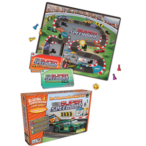 TCR7826 Super Speedway: Fact & Opinion and Using Context Clues (Gr  4 to 5)