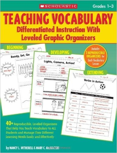 SC505900 Teaching Vocabulary: Differentiated Instruction With Leveled  Graphic Organizers