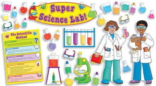 Super Science Lab Bulletin Board