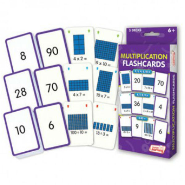Learning Games : JL206 Multiplication Flash Cards JL