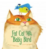 Fat Cat and Baby Bird2