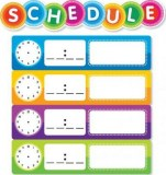 color schedule