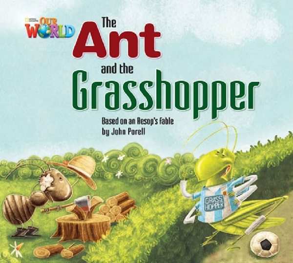 4 - 6 Years : The Ant & The Grasshopper Big Book